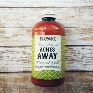 Aches Away Mineral Bath All Natural - 236 ml