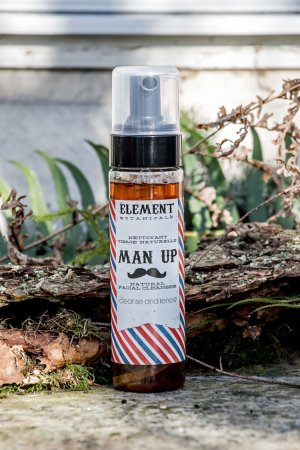 Man Up All Natural Facial Cleanser 236ml