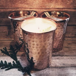 Limited Edition Yuletide Copper Candle