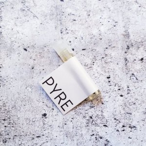 Sample Vial PYRE Perfume collab with LE LOU ULA