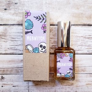 MERWITCH perfume collab with Band of Weirdos