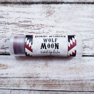 limited edition WOLF MOON lip balm