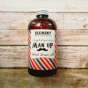 Man Up All Natural Facial Cleanser REFILL 236ml